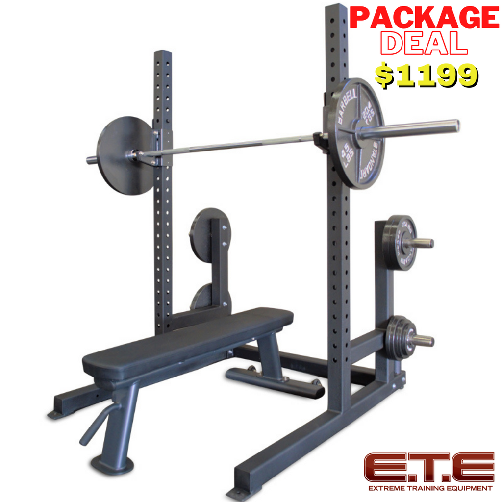 6ft Squat Rack Package Deal