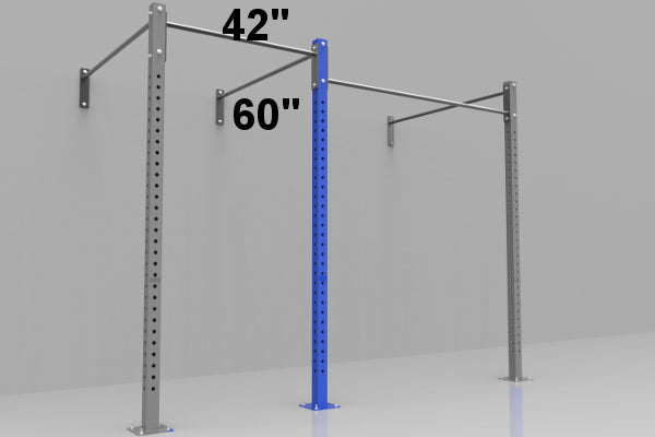 Add 4ft Section to Wall Mounted Rig w/ J-Hooks 4 to 6 Week Lead Time