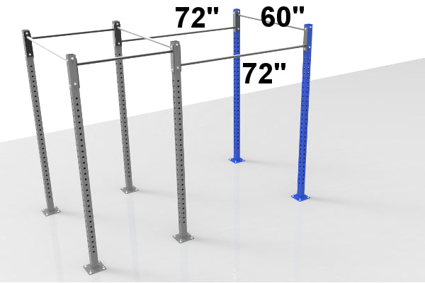 Add 6ft Section Freestanding Rig 4 to 6 Week Lead Time