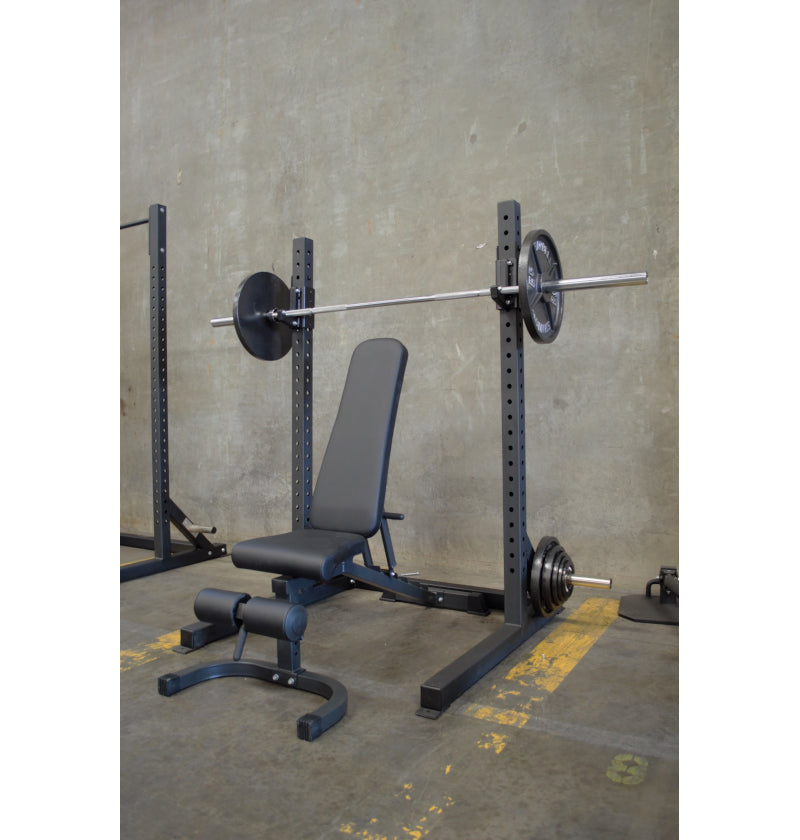 6 FT Basic Squat Rack Package Deal