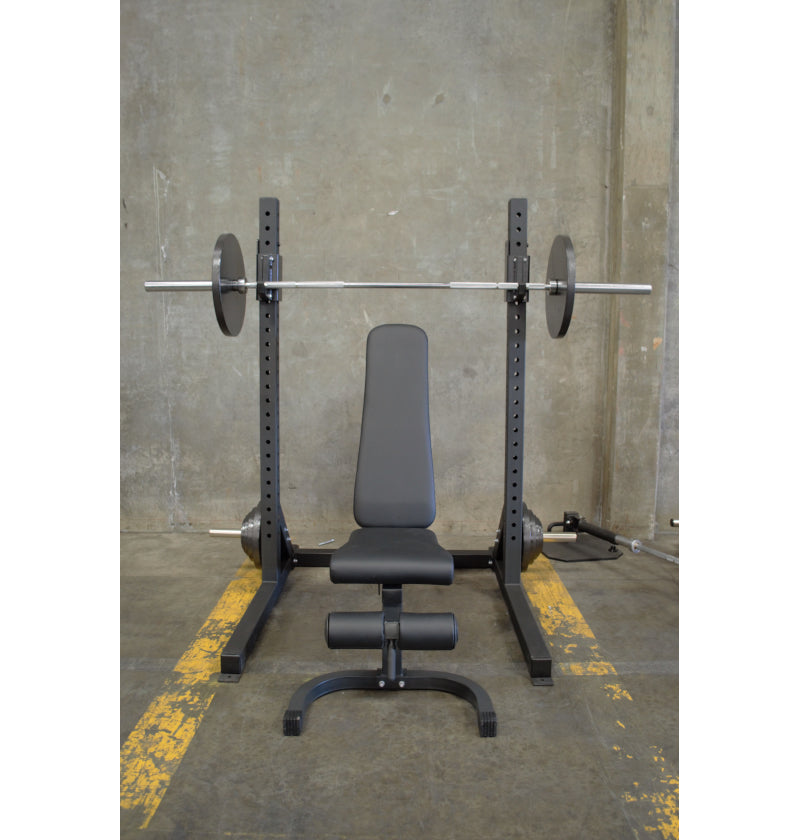 ETE 6ft Basic Squat Rack Package Deal