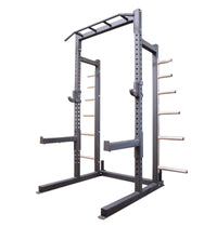ETE PRO Half Rack with Olympic Plate Holders