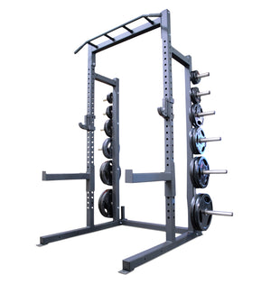 ETE PRO Half Rack w/ Olympic Plate Holders
