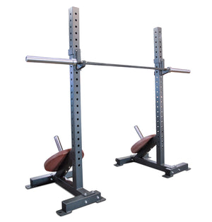 Heavy Duty Squat Stands with Weight Holders
