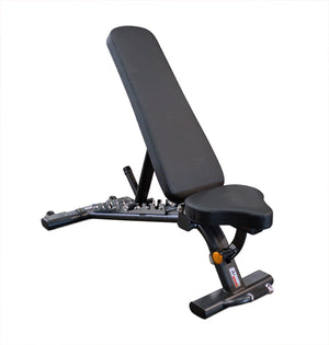 Flat Incline Bench with Wheels