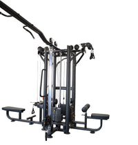 lat pulldown section PL7345 5 station