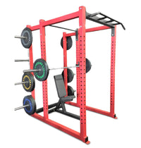 Power Cage with Bumper Plate Holders