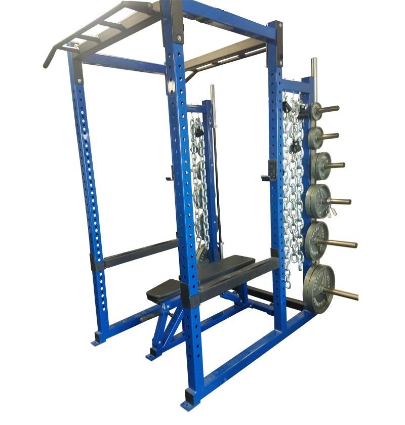 Power Rack with Weight Holders