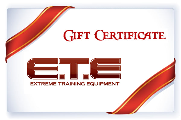 Extreme Training Equipment Gift Card
