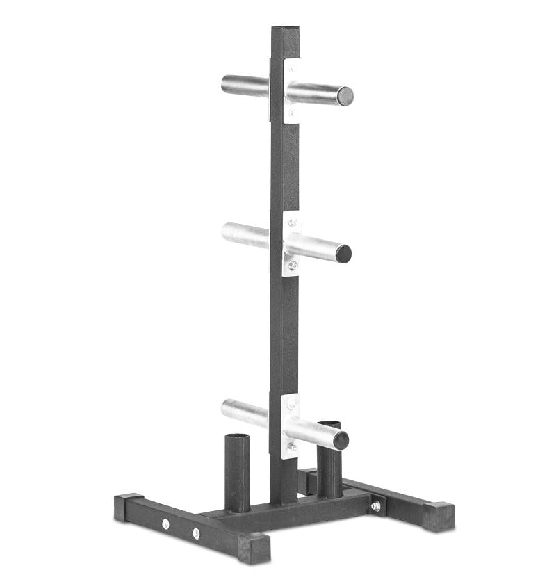 Tall Vertical Olympic Plate Tree with 2 Bar Holders