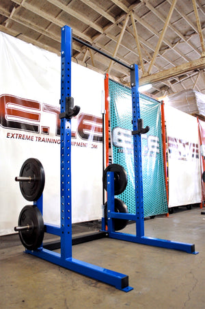 ETE Deluxe Squat Rack 8ft