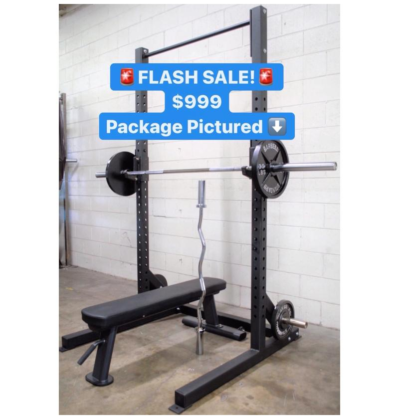 Squat Rack Flash Sale