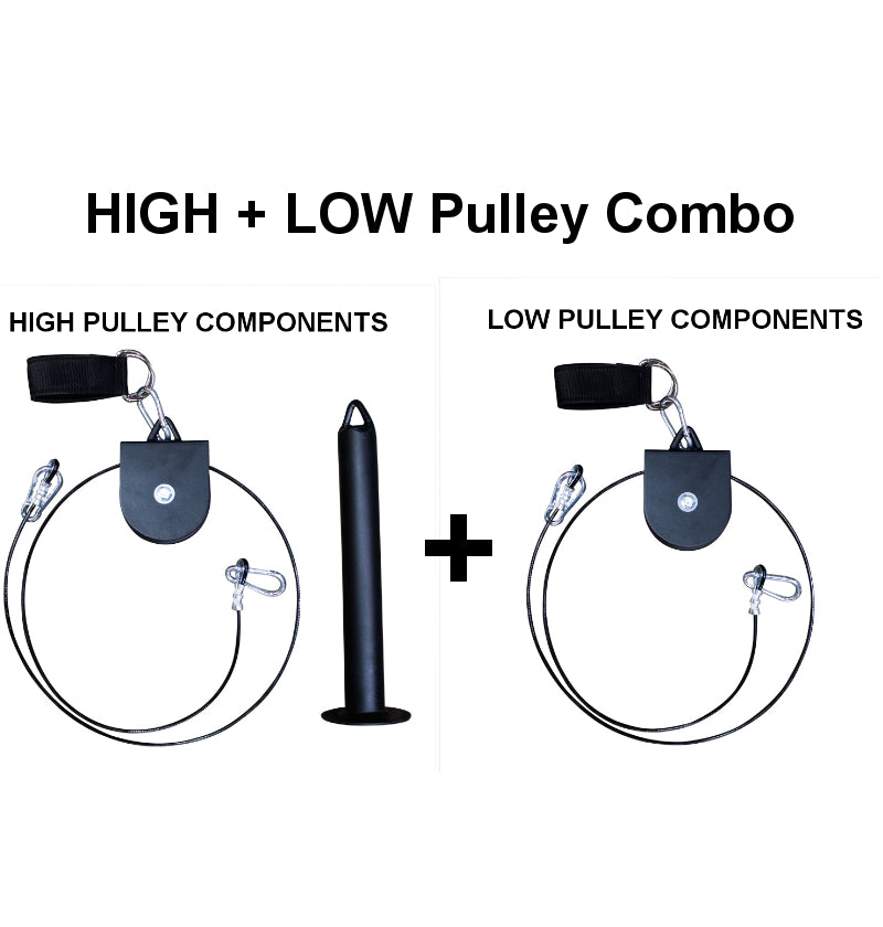 High + Low Pulley Combo