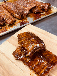 Ribs-Slow Roasted Orange Soy Glaze - Gluten Free