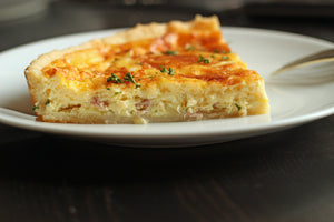 Quiche, Ham and Gruyere - Single Serving