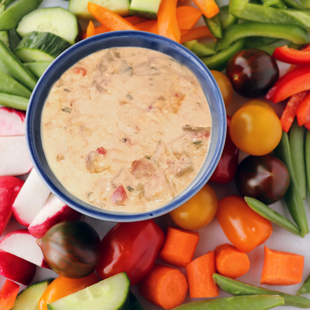 Crab and Brie Dip-Gluten Free