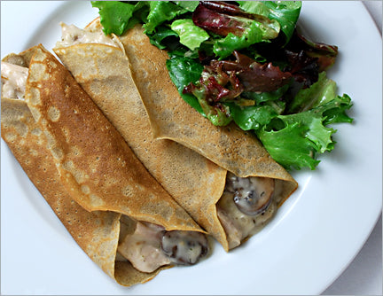 Chicken and Mushroom Crepes - Package of 4