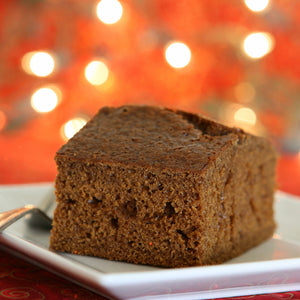 Gingerbread Cake with Salted Caramel Sauce
