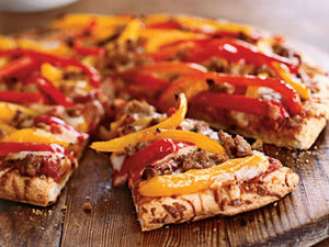 Pizza - Andouille and Pepper Pizza - Gluten Free
