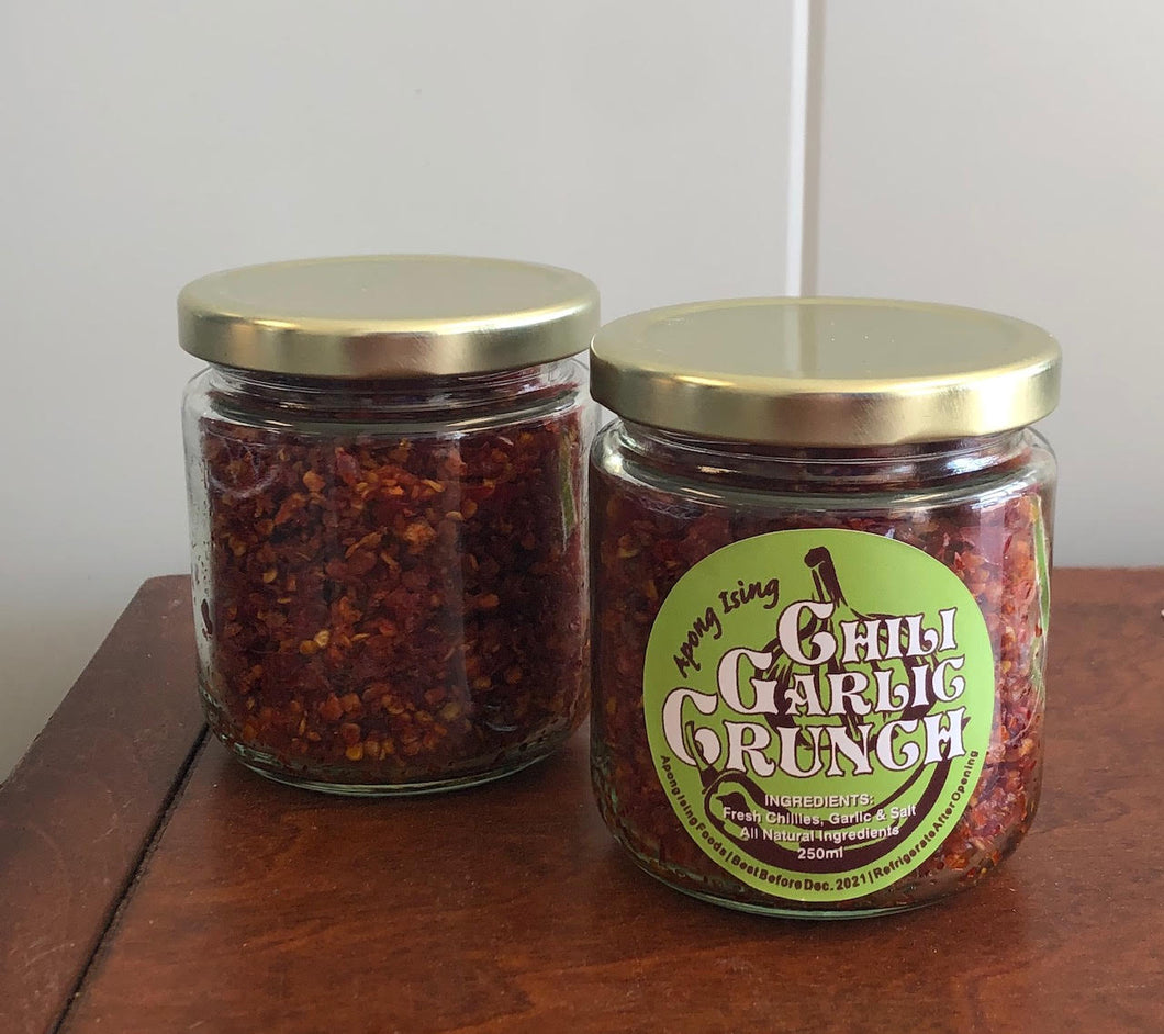 Chili Garlic Crunch - 250 ML - Gluten Free