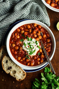 Chick Pea Curry Stew - Vegetarian - Gluten Free