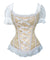 Corselet fita frontal e renda