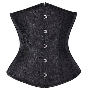 Corselet brocado underbust