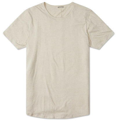 Modern Cotton Bamboo Linen Tee Natural