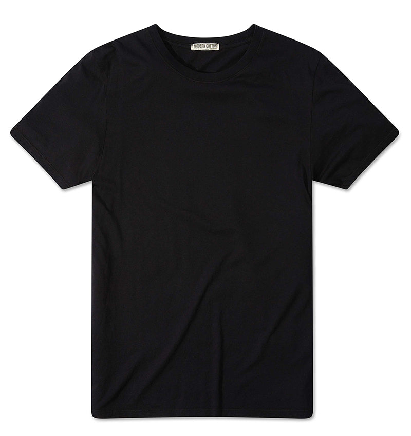 Short Sleeve Crew - Black