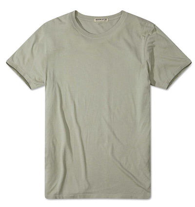 Modern Cotton Supima Micromodal Short Sleeve tee Seafoam flat lay
