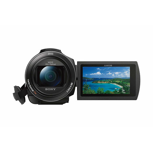Sony FDR-AX53 | Semi Pro 4K Wide Angle Camcorder and SteadyShot