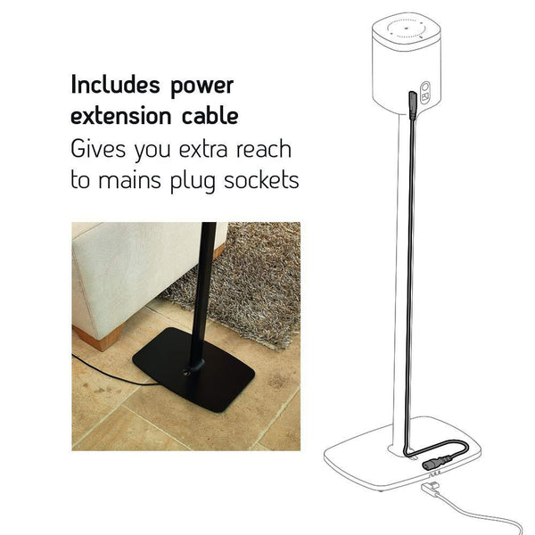 Flexson | Sonos Play 1/One Floorstands (Pair)