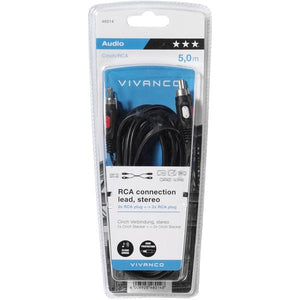 Vivanco | 5.0m RCA - RCA Cable