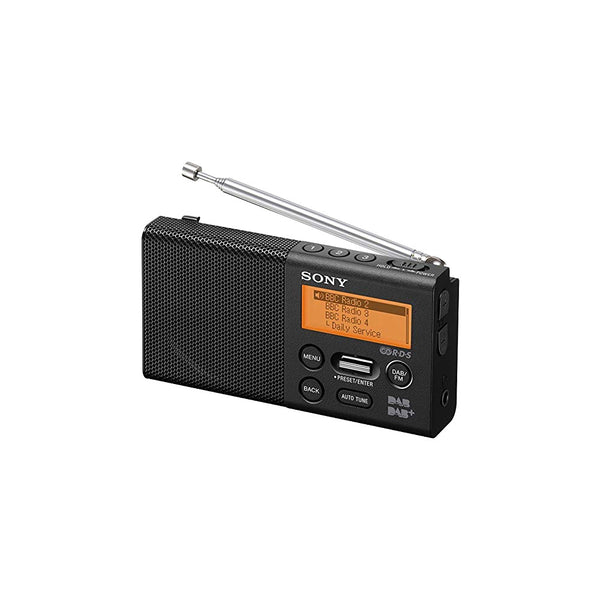 Sony XDR-P1DBP | Pocket Sized AM/FM/DAB Radio