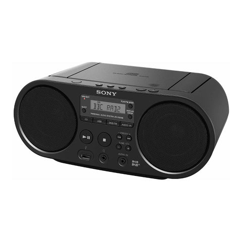 Sony ZS-PS55B | Portable Boombox with CD Player and DAB Radio