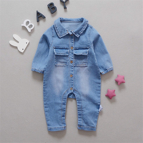 Cool For Fall Baby Romper