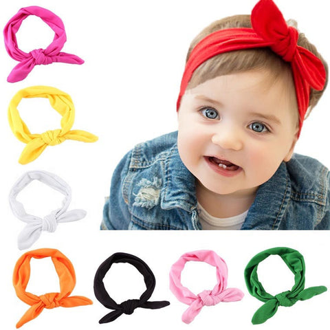 Baby Headband Turban Knot
