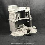 Ruined Loft Post-Apocalyptic Terrain