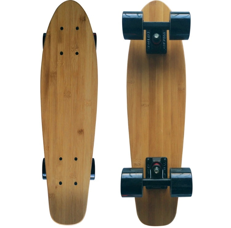 Classic Maple+Bamboo Mini-Cruiser Skateboard