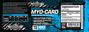 MYO CARD Cardarine Savage Line Labs Hardcore Series Label