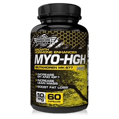 MYO HGH MK677 Savage Line Labs Hardcore Series