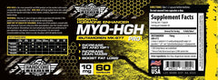 MYO HGH MK677 Savage Line Labs Hardcore Series Label
