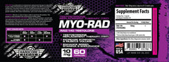MYO RAD 140 Hardcore Series Savage Line Labs Label