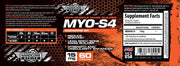 MYO S4 Andarine Savage Line Labs Hardcore Series Label