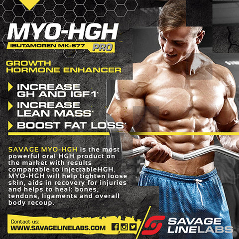 MYO-HGH (MK677) - Savage Line Series