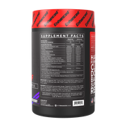 Rage Pump Enhanced Athlete Nutrition Label