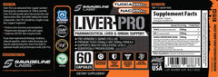 Liver Pro Savage Line Labs Label