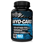 MYO CARD Cardarine Savage Line Labs Hardcore Series