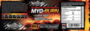 MYO BURN Savage Line Labs Label