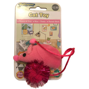 Catnip Mouse Pink